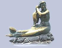 Meerjungfrauen und Delfine
